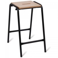 Advanced Wooden Top Lab Stools