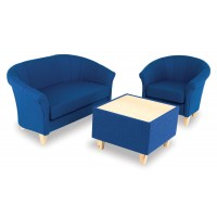 Advantage Fabric Luxury Tub Chairs