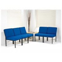 D7 Steel Frame Reception Chairs
