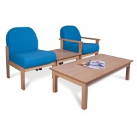 Deluxe Wooden Easy Seating