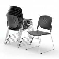 Edge High Density Stacking Chairs