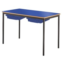 MDF Edge Classroom Tables With Trays