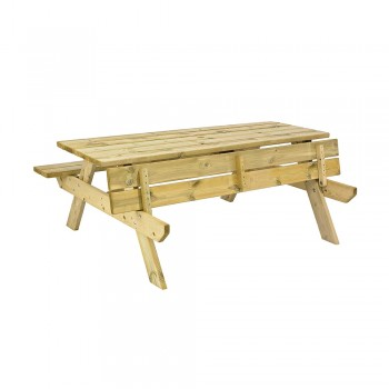 M Pressure Treated Picnic Table Leisure Furniture Direct Limited - Pressure treated wood picnic table