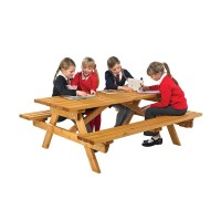Cotswold Junior Timber Picnic Table