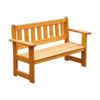Infant Wooden Outdoor Bench