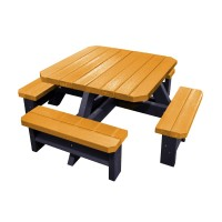 Infant Square Recycled Plastic Picnic Bench