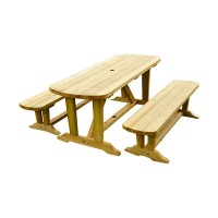 Wooden Picnic Dining Table