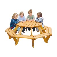 Timber Infant Octagonal Picnic Bench