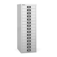 Bisley 15 Multi Drawer Filing Cabinet