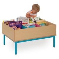 Bubblegum 6 Bay Kinderbox Book Storage