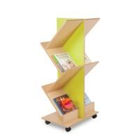 Bubblegum Ladder Book Storage Unit