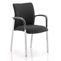 Academy Upholstered Reception Chair With Arms