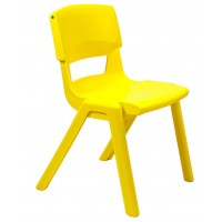Postura Plus Chairs 430mm SALE - Sun Yellow