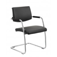Havana Cantilever Leather Visitor Chair