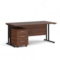 Maestro 25 Office Desk and Pedestal Bundle