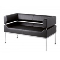 Benotto Faux Leather Reception Sofas