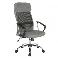 Chord Grey Mesh High Back Chair
