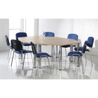 Chrome Deluxe Meeting Tables