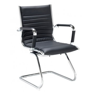 Bari Faux Leather Visitors Chair