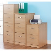 Deluxe Wooden Filing Cabinets