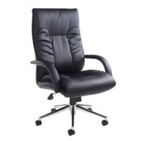 Derby Faux Leather Executive Office Chair