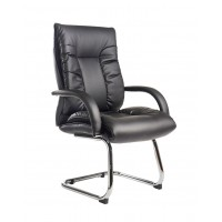 Derby High Back Faux Leather Visitors Chair