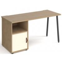 Sparta Straight Office Desks With Cupboard