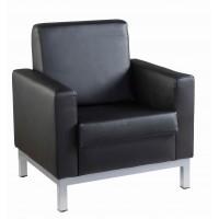 Helsinki Leather Reception Chair