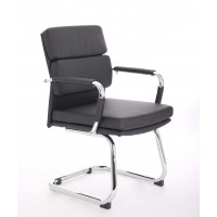 Advocate Cantilever Leather Visitor Chair