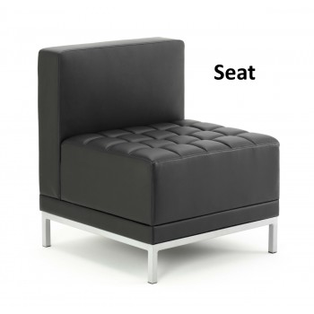 Infinity Leather Modular Reception Seating