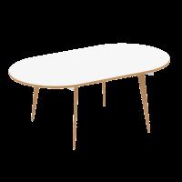 Oslo Contemporary Oval Boardroom Table