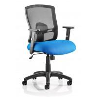 Portland Heavy Duty Mesh Operator Chair