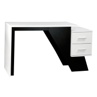 Aaron Contemporary Workstation Desk