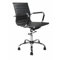 Aura Leather Effect Managers Chair