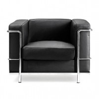 Belmont Contemporary Leather Reception Chair