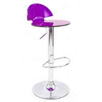 Boston Translucent Adjustable Barstool