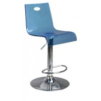 Florida Translucent Adjustable Barstool