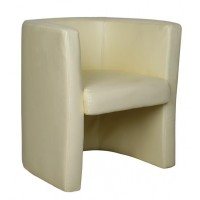 Milano Leather High Back Tub Chairs
