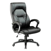 Wellington High Back Faux Leather Chair
