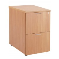 Essentials Wooden Filing Cabinet