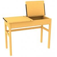 Beech Double Wooden Locker Desks