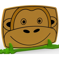 Early Years Monkey Room Divider