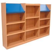 Nexus 3 School Library Bookcase Combination
