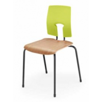 SE Classic Wooden Seat Chair