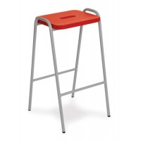 MDF Colour Stained Lab Stools