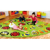 Back To Nature Large 3m Classroom Carpet