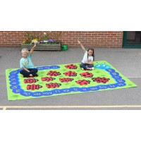 Caterpillar Educational Outdoor Play Mat