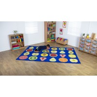 Early Years Fruit Classroom Carpet