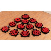 Early Years Ladybird Counting Cushions