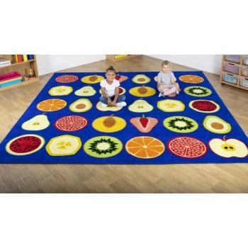 Fruit Large 3m Classroom Carpet
